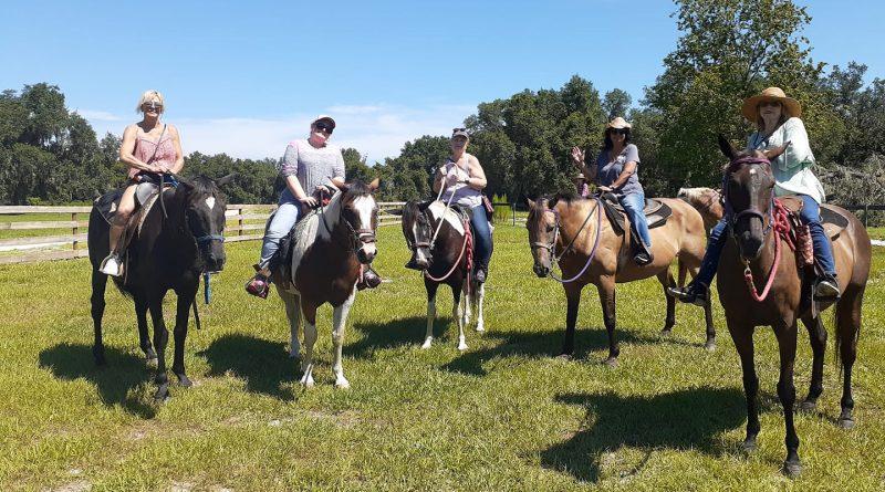 Horse Trail ride in Orlando Florida Rock Springs run