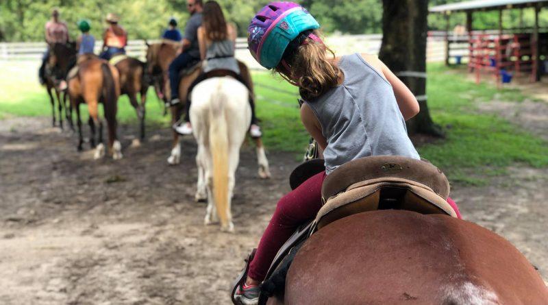 horseback riding Ocala Florida ages 6 and up